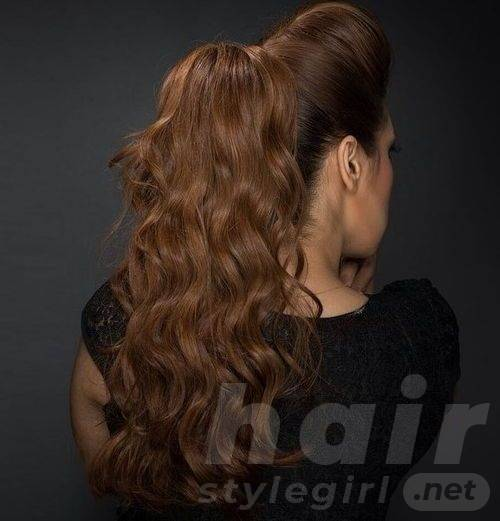 Bouffant and Ponytail