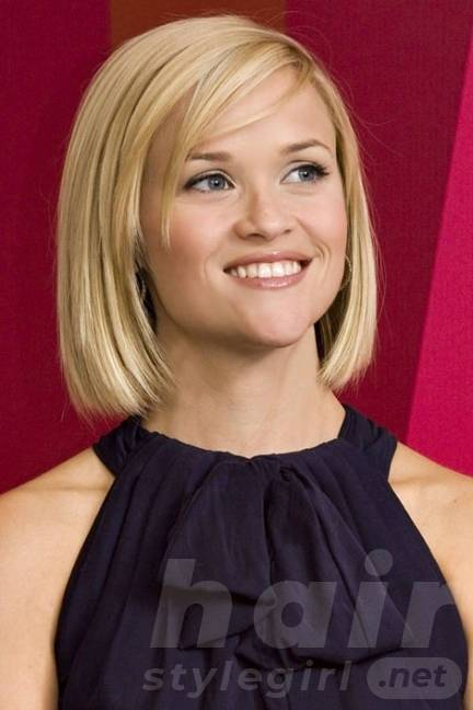 Bob Hairstyle for Heart-shaped Women