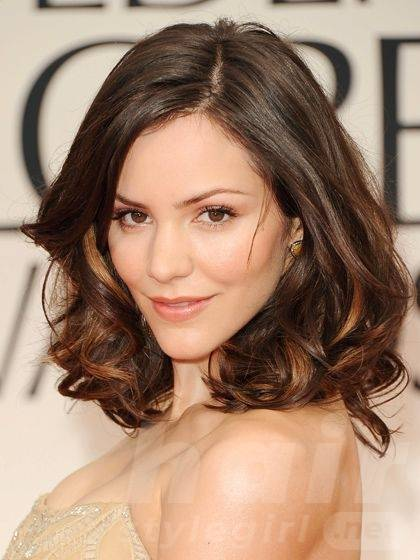Mid-length Hairstyle for Heart-shaped Women