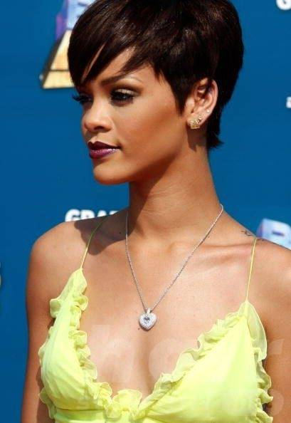 Short Hairstyle for Heart-shaped Women