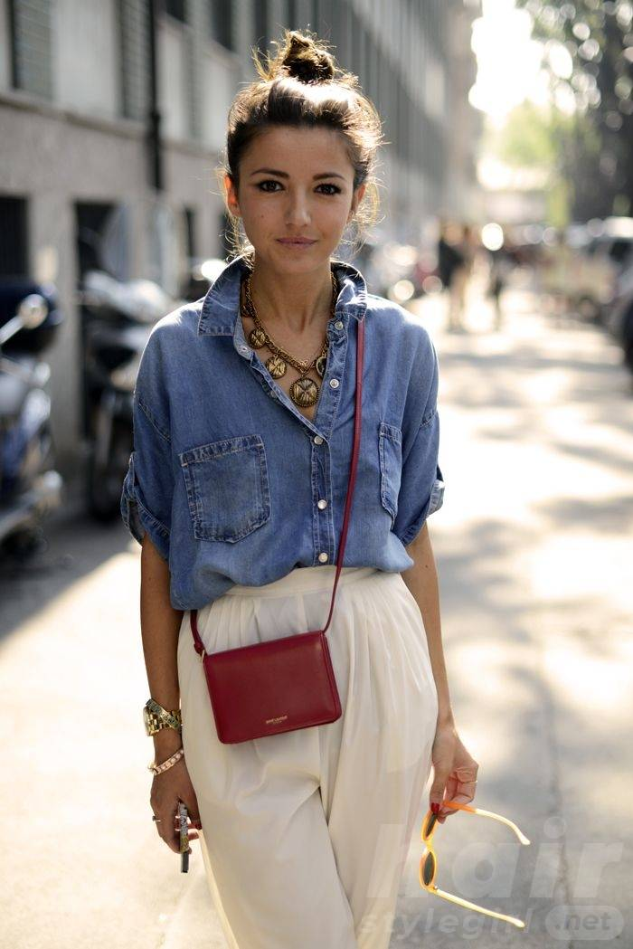 Simple Top Knot