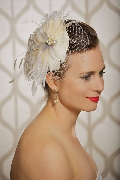 Beach Wedding Hairstyle for Short Hair