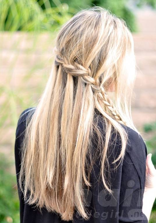 2014 Cute French Braided Hairstyles