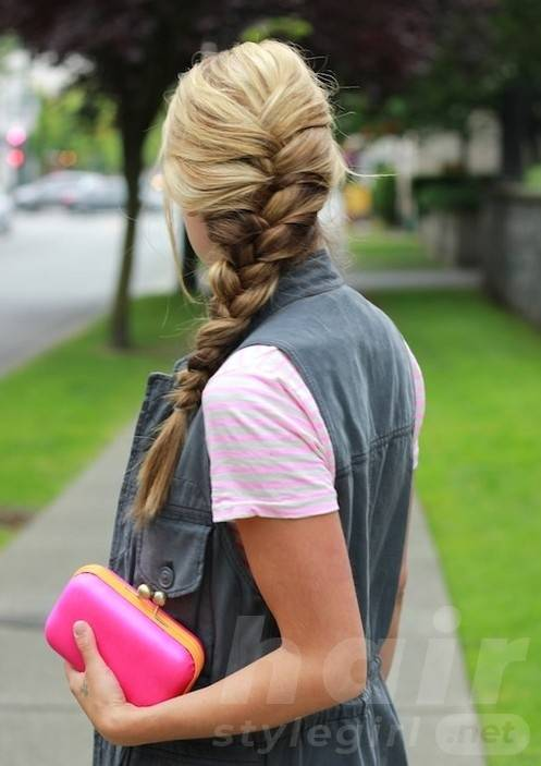 Easy French Braided Hairstyles