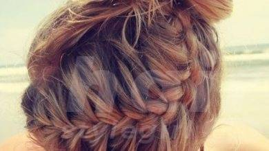 French braid updo Hairstyle for 2014