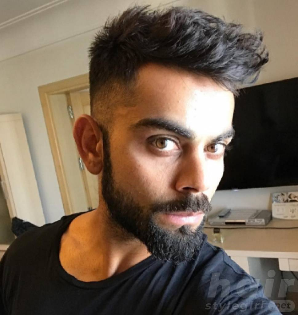 Virat Kohli Hairstyles - Stylish and Worth Trying for Every Man